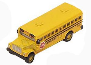 Conventional style 2.5 inch school bus