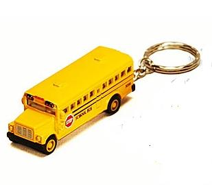 2.5 Conventional School Bus Keychain