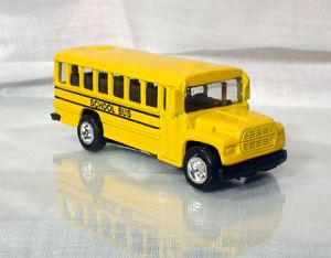 "3.25"" Conventional style school bus model ONE DOZEN BOX"