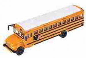 International CE 1/87 HO Scale School bus w/optional lettering