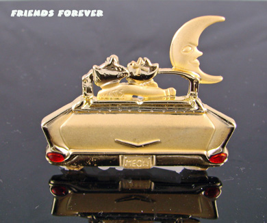 "Cool Cats in a 57 Chevy ""Friends Forever"""