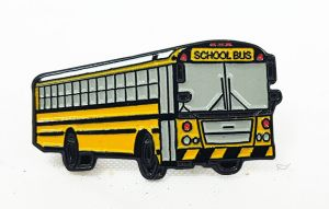 School Bus lapel pin Thomas FX