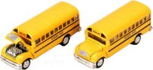 School bus with opening hood - 4.5 inch