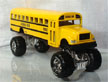 "Die Cast Yellow School Bus Large 8.5"" Long with Monster Wheels!"