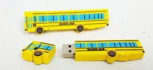 4GB School Bus Flash Drive