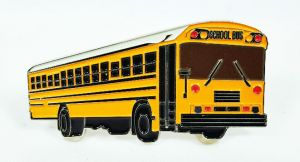 Bluebird early model AAFE 2.5 inch school bus pin
