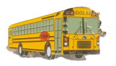 Bluebird Late model AAFE school bus pin