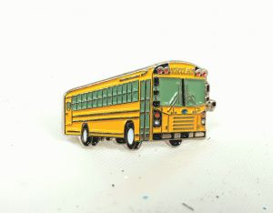 Bluebird Late model AAFE school bus pin 1.25 inch