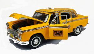 Checker Marathon Taxi, NY City 1963