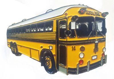 Crown Coach school bus Lapel Pin