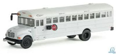 International CE 1/87 HO Scale School activity bus w/optional lettering
