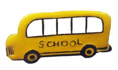 School bus fashion brooch Style 2