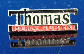Thomas Built Tie Tac, Hat Pin, school bus Lapel Pin